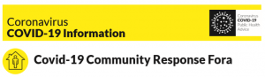 Covid-19 Community Response Fora